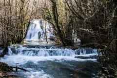 Tufs vattenfall Arkivfoto