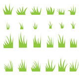 Tufts of grass. Stock Photos