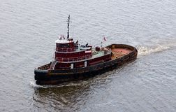 Tug. Boat in river royalty free stock photos