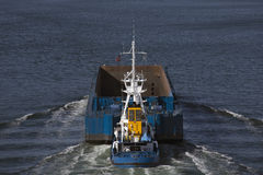 Tug in action Stock Image