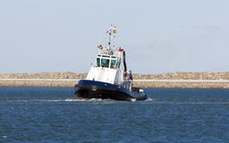 Tug boat. Picture of a tug boat in the port Stock Photography