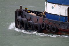 Tug Boat. Heading out the river Royalty Free Stock Photography