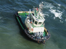 Tug boat at the Baltic sea Stock Images