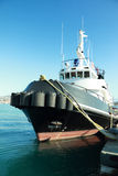 Tug boat on harbor Royalty Free Stock Photos