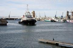 Tug Boat in Harbor Royalty Free Stock Image