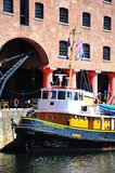 Tug Boat, Liverpool. Royalty Free Stock Photo