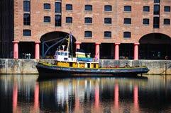 Tug boat, Liverpool. Royalty Free Stock Photos