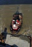 Tug Boat Pushing Barge Royalty Free Stock Photography