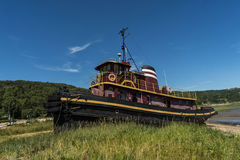 Tug Boat in Shipyard Royalty Free Stock Image