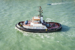 Tug Boat Venice Italy Stock Photo