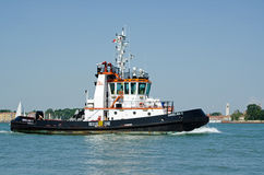 Tug Boat, Venice Royalty Free Stock Images