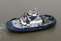 Tug boat working on the Panama Canal Royalty Free Stock Images
