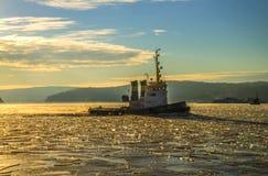 Tug & icebreaker Royalty Free Stock Photo