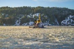 Tug & icebreaker Stock Photography