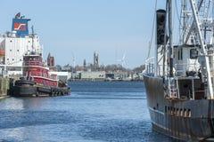 Tug Iona McAlister Fairhaven horisont Royaltyfri Bild
