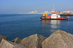 Tug Ship at Scheveningen Stock Photography