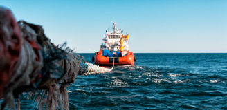 Tug royalty free stock images