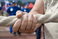 Tug-of-war Royalty Free Stock Photo