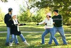Tug Of War Stock Photo