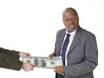 Tug of War with Big Money stock images