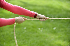 Tug of war Stock Image