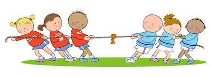 Tug of War Stock Images