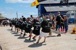 Tug of War, Hastings Stock Photos