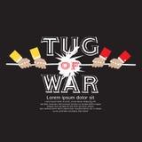 Tug Of War. Royalty Free Stock Photography