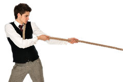 Tug-of-war at work Stock Photos