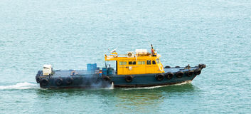 tugboat κόλπων Στοκ Εικόνες
