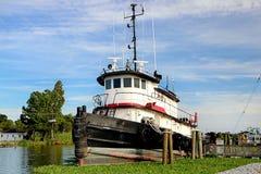 Tugboat της Λουιζιάνας Στοκ Εικόνα