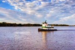 Tugboat της Λουιζιάνας Στοκ φωτογραφία με δικαίωμα ελεύθερης χρήσης