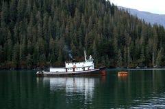 tugboat Аляски Стоковая Фотография