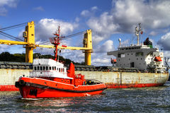 Tugboat Stock Photography