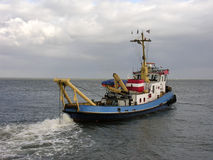 Tugboat royalty free stock photo