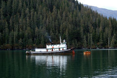 Tugboat in Alaska Stock Photography