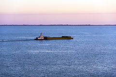 Tugboat and Barge Royalty Free Stock Photo
