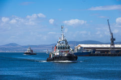 Tugboat Cape Town Stock Photos