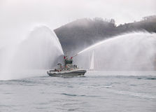 Tugboat in Ferrol Royalty Free Stock Images