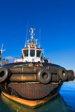 Tugboat in the Harbor Royalty Free Stock Image