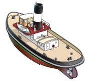 tugboat ilustracyjny wektor Fotografia Royalty Free
