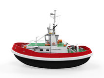 Tugboat Isolated Royalty Free Stock Images