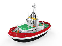 Tugboat Isolated Stock Photo