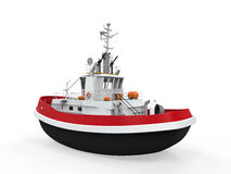 Tugboat Isolated Royalty Free Stock Image