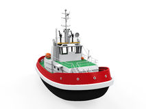 Tugboat Isolated Stock Image