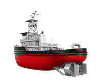 Tugboat Isolated Royalty Free Stock Photo