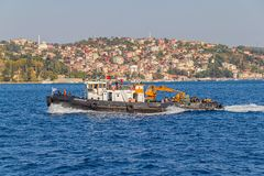 Tugboat in Istanbul Stock Images