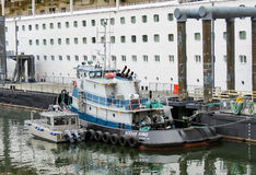 Tugboat in Juneau Royalty Free Stock Photo