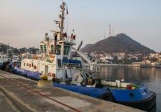 Tugboat in Manzanillo Stock Photos