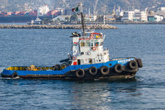 Tugboat in Mexico Royalty Free Stock Photography